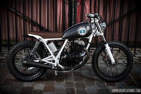 street motorcycle germanscoot suzuki gn125 tracker