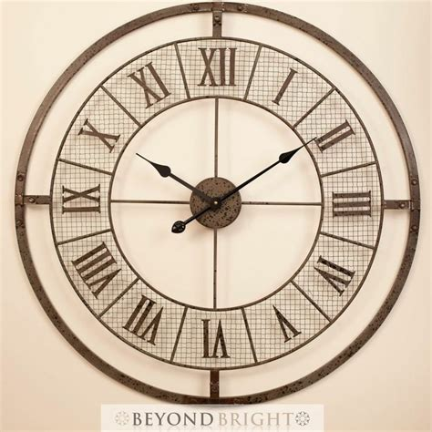 related keywords suggestions for large metal wall clocks