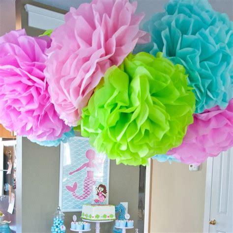 15 pcs 10 quot 12 quot 14 quot ungu karangan bunga buatan kertas krep bunga bola dekorasi mobil