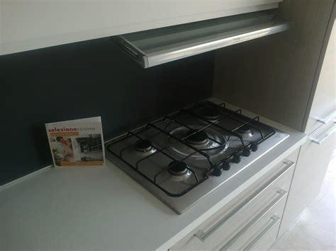 piano cottura rex 5 fuochi vetro cucina astra cucine iride line moderna laccato opaco