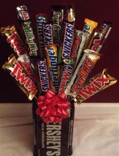 25 best ideas about candy bar bouquet on pinterest