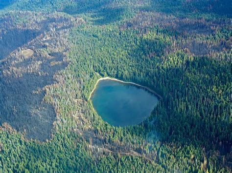 bench lake mt adams aerial photos of cougar creek fire friends of mount adams