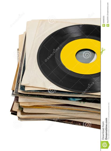 Free Records In Lot Of Records In Sleeves Royalty Free Stock Photography Cartoondealer 13421009