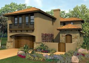 Indian Stone Patios Plan W36817jg Spanish Courtyard Home Plan E