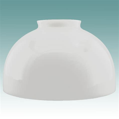 glass dome l shade 2429 white dome shade 10 quot glass lshades