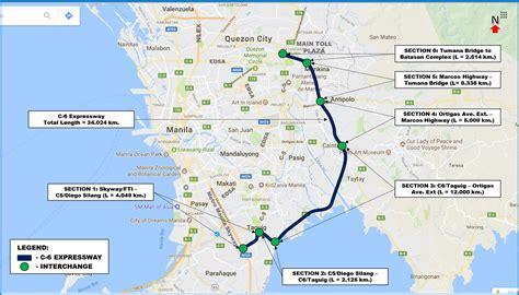 Coastal Plans Metro Manila Expressway Project C6 Department Of