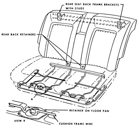 service manual removing seat 1997 cadillac seville 98 deville front driver seat removal
