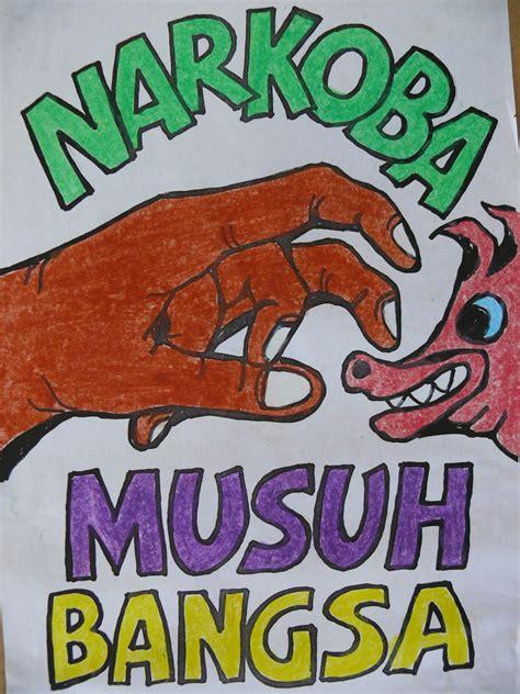 film tentang narkoba remaja gambar pameran poster kartun penyuluhan bahaya narkoba