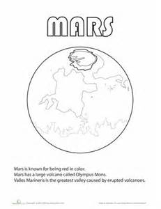 mars coloring pages mars coloring page space theme