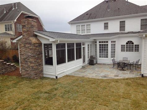 10 By 12 Screened Porch Including Concrete Patio Floor Estimate - raleigh screen porch from raleigh sunrooms three 3
