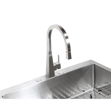kitchen sink single bowl top mount 36 inch top mount drop in stainless steel single bowl