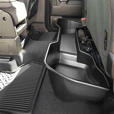 seat storage 2018 silverado general motors 23183670 silverado seat storage