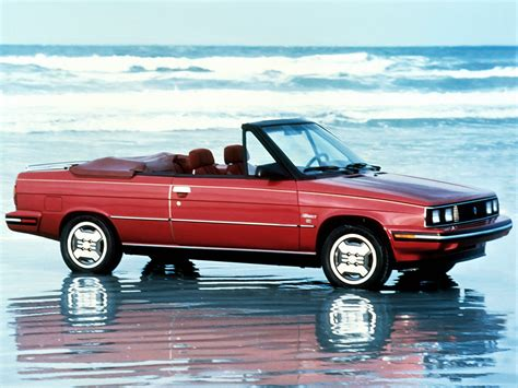 renault alliance convertible renault alliance convertible 1985 87