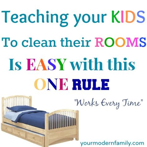 how to clean your bedroom for teenagers teaching a child to keep their room clean your modern family