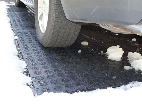 Snow Melt Mats by Hotflake Heated Walkway Driveway Mat