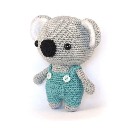 crochet pattern koala bear cute koala bear amigurumi pattern amigurumipatterns net