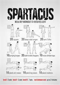 spartacus workout exercises for strength serena