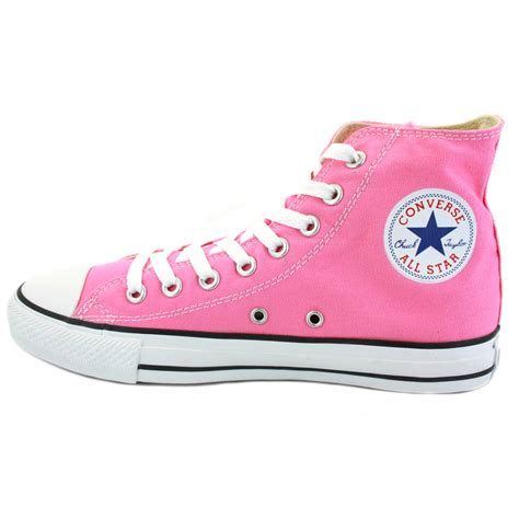 converse all chuck hi pink unisex shoes ebay