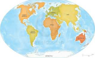 Map Of The World Continents by Pics Photos World Continents Map