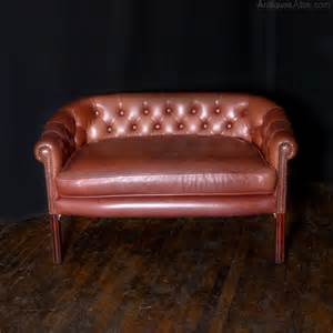 antique red leather sofa antiques atlas old red leather sofa