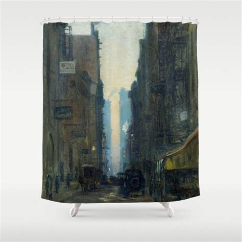 city curtains shower curtains of nyc new york city historical blog