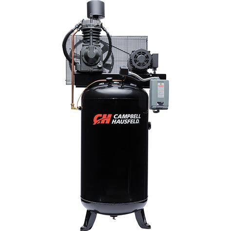 free shipping cbell hausfeld electric stationary air compressor 7 5 hp 23 7 cfm 175