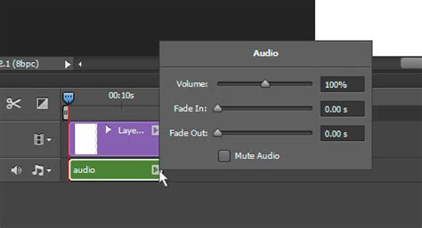 audio format timeline working with audio files in photoshop
