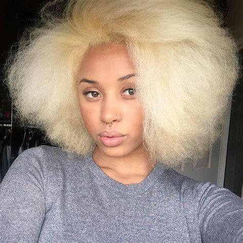 blonde hairstyles black girl 12 raz 245 es pelas quais mulheres negras n 227 o devem platinar