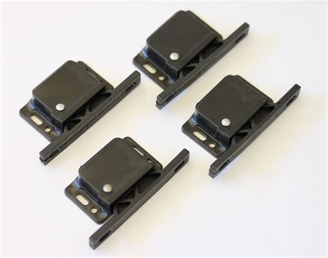 rv cabinet door latches 4 pack decorite 5838 black grabber latch rv trailer