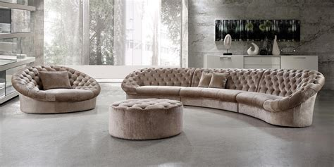 comfort and style furniture round sofa sectional thesofa