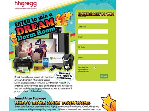 Hhgregg Sweepstakes 2014 - hhgregg dream dorm sweepstakes