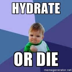 Die Meme - hydrate or die success kid meme generator