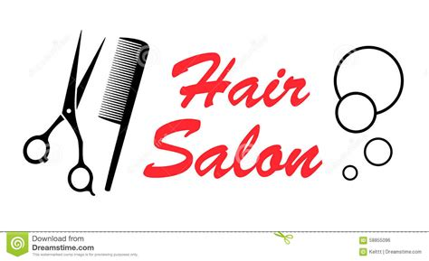 twist hairstyle tools clipart icons scissors and comb icon outline style vector illustration