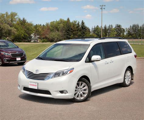 toyota minivan 2017 toyota review updated family minivan