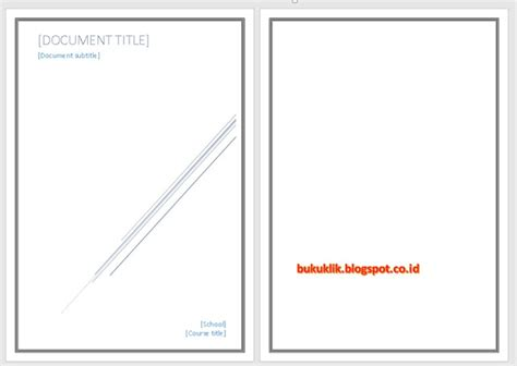 membuat garis pinggir di word cara membuat garis sul pinggir di aplikasi word dengan