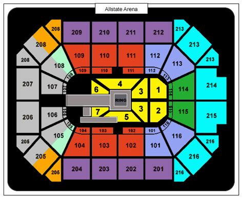 Allstate Arena Calendar Allstate Arena Seating Brokeasshome