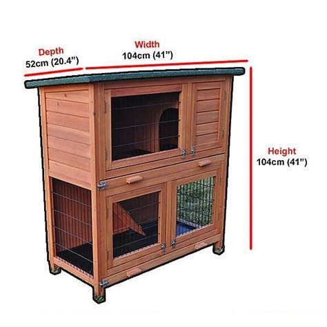 What Size Should A Rabbit Hutch Be rabbit hutch size animals to add to my zoo
