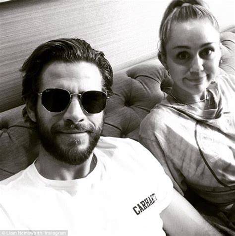 Wedding Bells About Miley Cyrus by Miley Cyrus And Liam Hemsworth S Australian New Year S