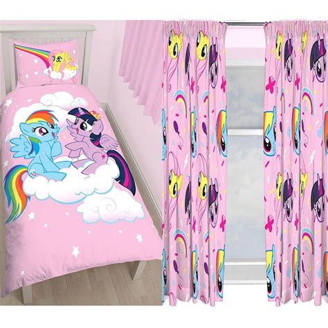my little pony curtains my little pony equestria single duvet cover set panel