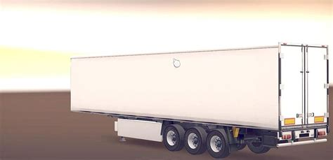 trailer white white coollinear trailer with new russian cargos ets 2