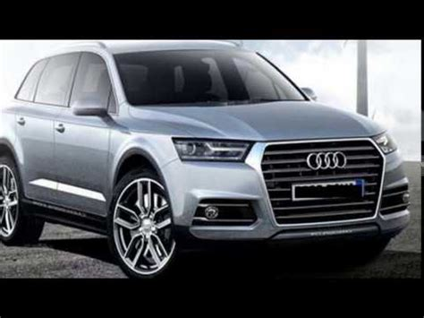 2017 audi q7 redesign, release and changes specs youtube