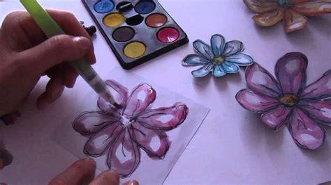 come dipingere i fiori come si dipinge velocemente un fiore part 2 how to