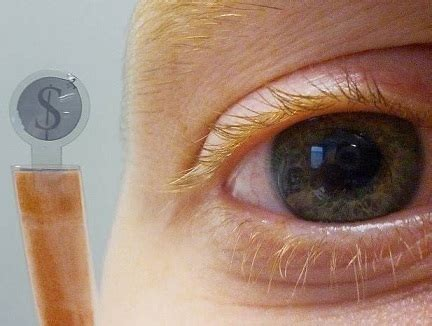 lcd contact lens can display text, works like sunglasses too