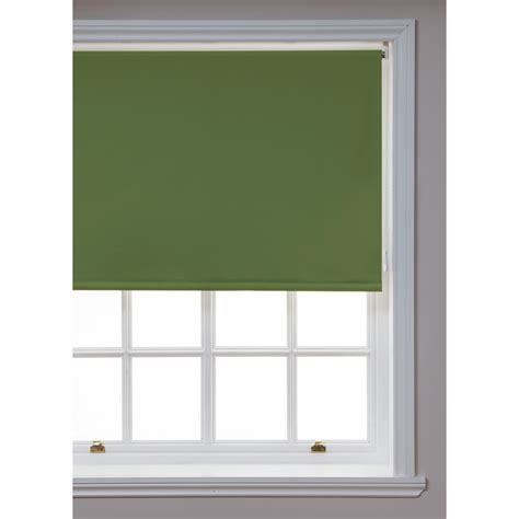 jalousien verdunkelung wilko blackout roller blind green 120cm wide x 160cm drop