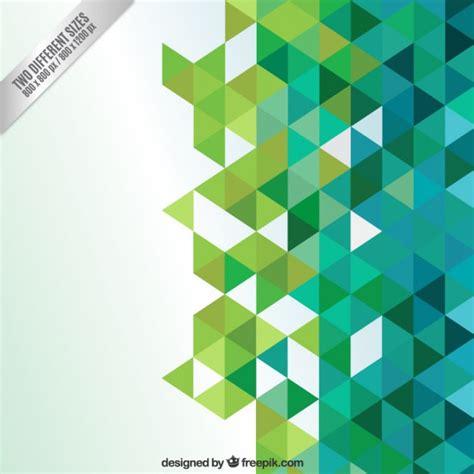 imagenes de triangulos verdes fondo abstracto con tri 225 ngulos verdes descargar vectores