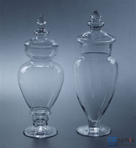 Jars And Vases by Glass Jar Syz023 24 Sophiaglassware Glass