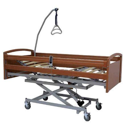 letto sanitario letto sanitario elettrico in legno elevabile con sponde