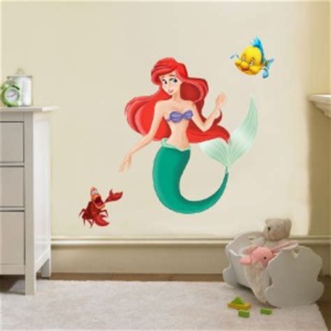 little mermaid home decor the little mermaid disney decal removable wall sticker