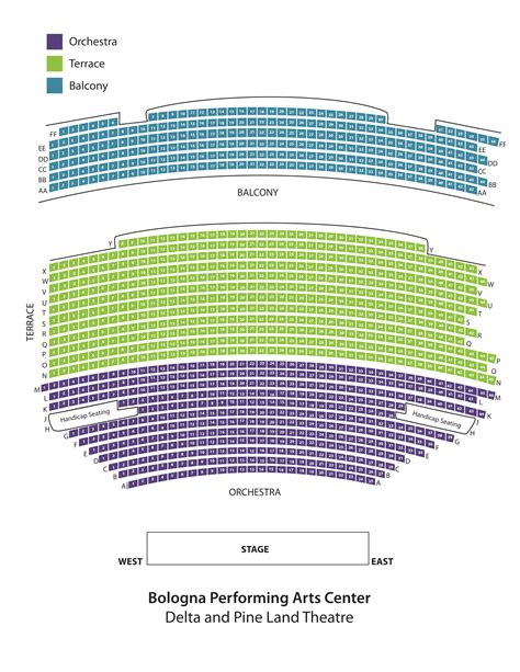 seating chart bologna pac