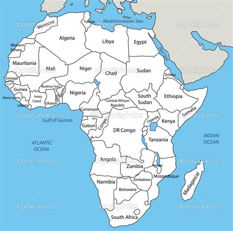 africa map in africa mapa world map dictionary